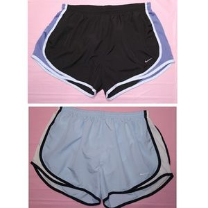 Nike / Women Lot of two Fit-Dry Short's Sz L
